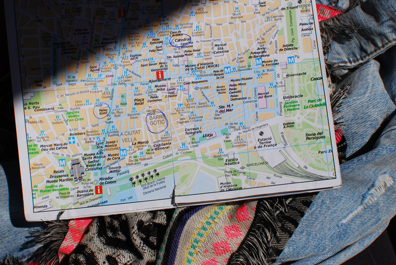 karte-barcelona-travel-strand-meer-reise