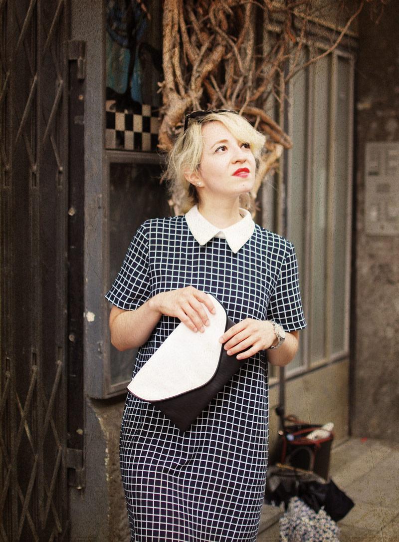 tartan-dress-vintage-bubikragen-60ies-retro-vintage-outfit-blogger-fashion2
