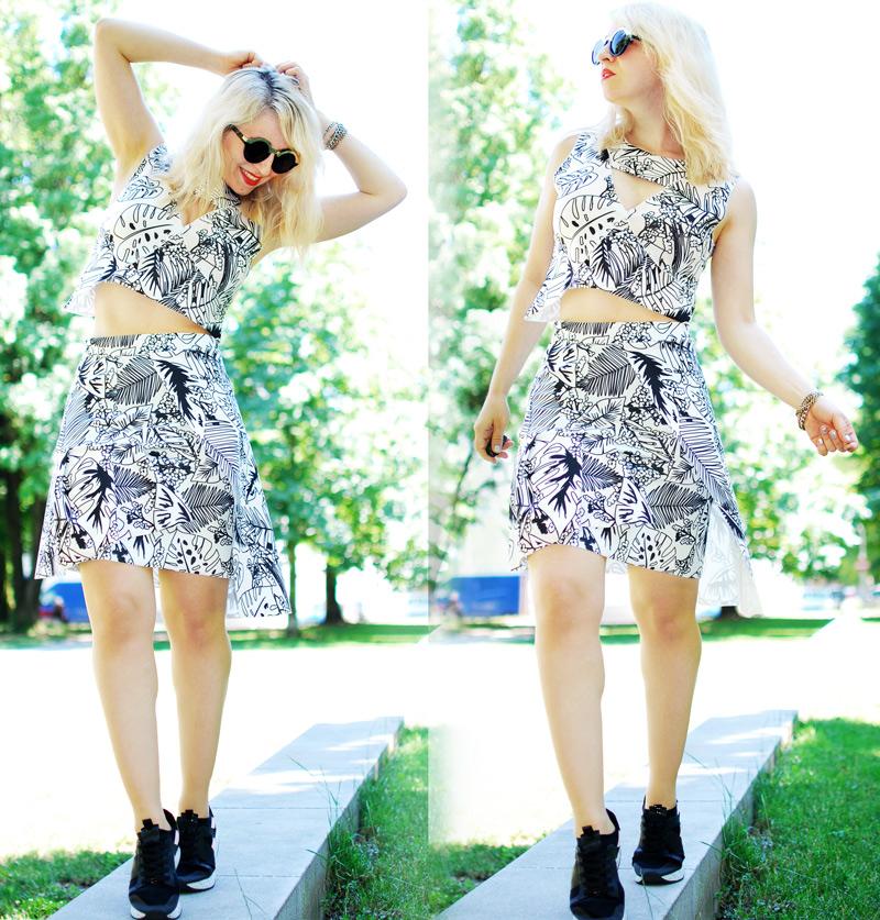 zweiteiler-kostuem-zara-palm-print-tropical-skirt-outfit-fashionblog