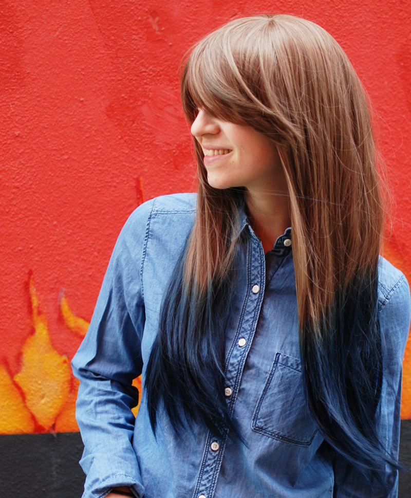 portrait-wig-ombre-hair-fashion-blogger-blog-nachgestern-distressed-denim-leather-3