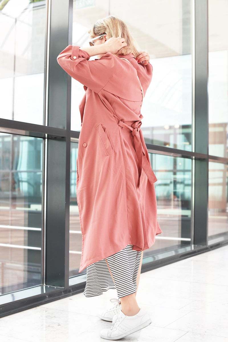 pink-trenchcoat-striped-maxi-dress-fashionblog-outfit-nachgesternistvormorgen-1