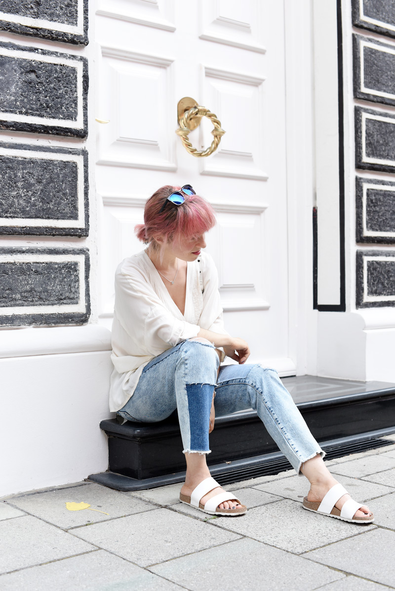 outfit-basics-blouse-jeans-denim-blogger-fashion