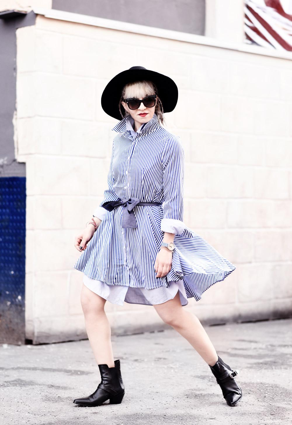 shein-ootd-blouse-dress-blusenkleid-kleid-streifen-blue-blau-nachgesternistvormorgen-modeblog-fashionblogger-muenchen-boots-cowboy-cute-suess-streetstyle-6