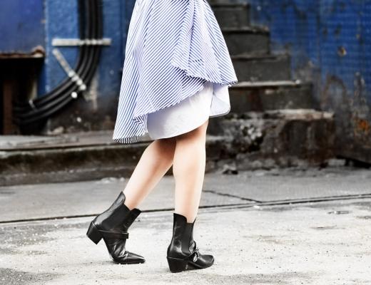 shein-ootd-blouse-dress-blusenkleid-kleid-streifen-blue-blau-nachgesternistvormorgen-modeblog-fashionblogger-muenchen-boots-cowboy-cute-suess-streetstyle-detail