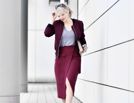 vorschau-marsala-bordeaux-farbe-midi-wickelrock-trend-blogger-modeblog-muenchen-nachgesternistvormorgen-streetstyle-bomber-laceup-shoes-heels-schuhe