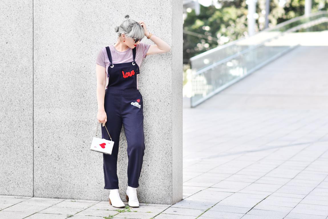 Outfit Latzhose Nachgesternistvormorgen