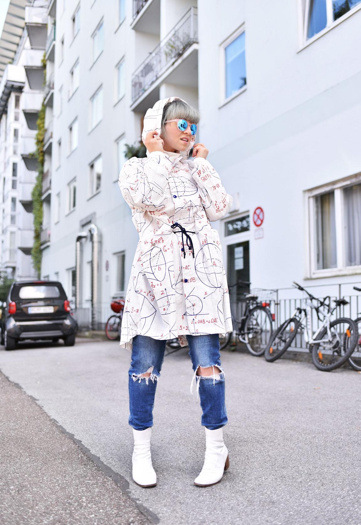 dezzal, nachgesternistvormorgen, fashionblogger, modeblogger, muenchen, regenjacke, suess, outfit, herbst, streetstyle