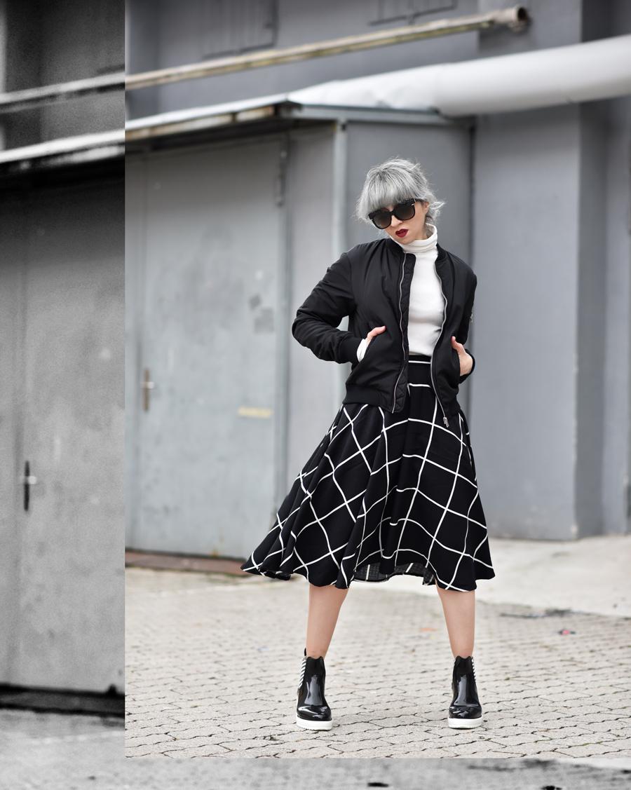 gummi,stiefel,outfit,inspiration,nachgesternistvormorgen,midi,rock,grid, fashionblogger, modeblogger, muenchen