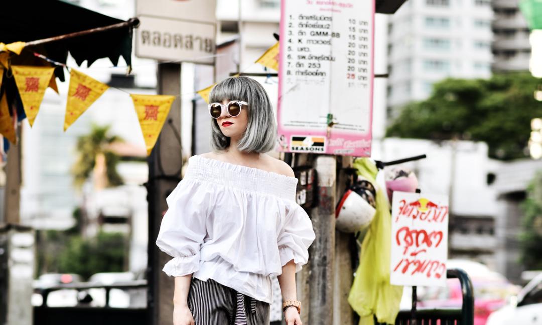 thailand, bangkok, city, metropole, bigcity, reise, travel, blogger, ootd, offshoulder, trend, mode, fashion