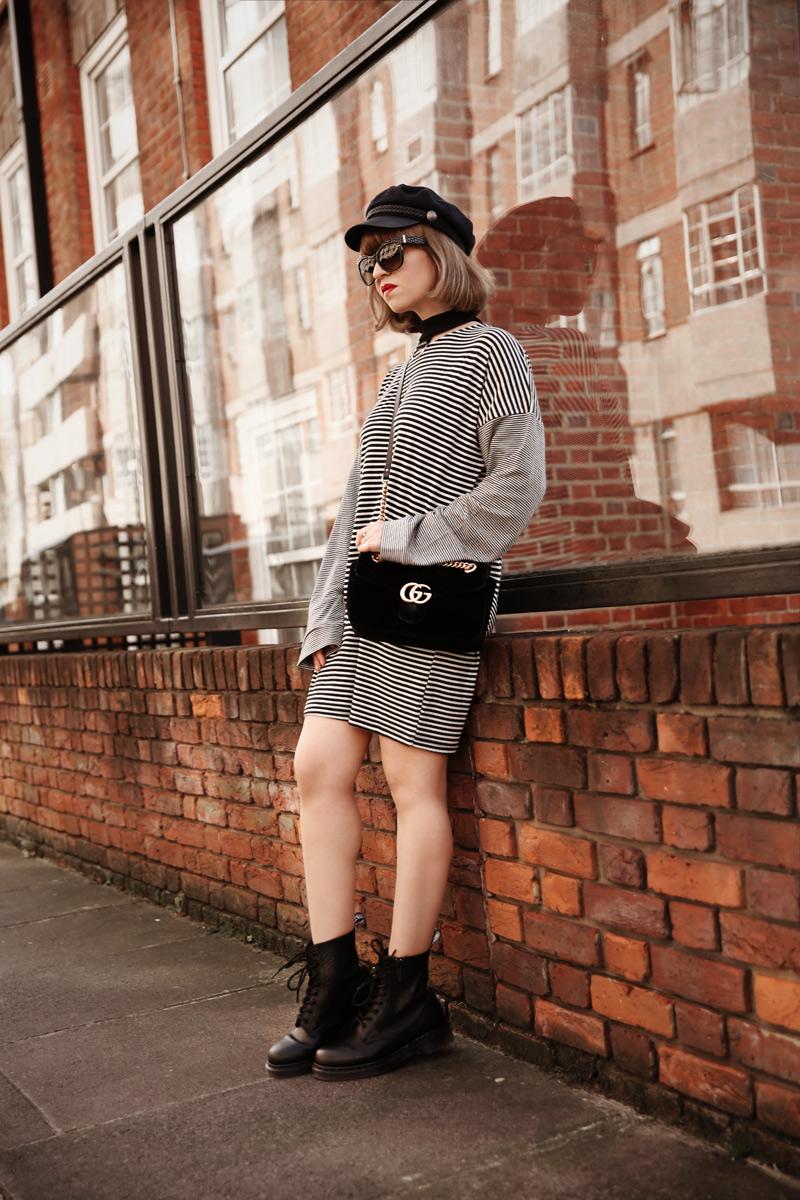 london, outfit, streetstyle, blogger, fashionblog, modeblog, modeblogger, streifen, asos, herbst, muenchen