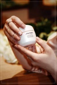 shiseido, essentialenergy, creme, gesicht, pflege, cream, feuchtigkeit, gurkenscheiben, lifestyle, blogger, muenchen, editorial, mode, fashion