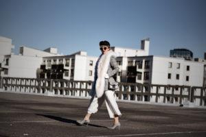 kunstpelz, stola, outfit, fakefur, white, culotte, ootd, streetstyle, fashionblog, modeblogger, muenchen, berlin, zara