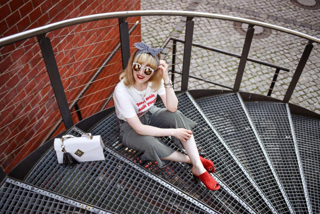 streifen, culotte, sommer, summer, berlin, fashionblog, modeblog, outfit, inspiration, ootd, look, streetstyle, fashionista, tipps, kleidung, kombinieren, print, hm, tshirt