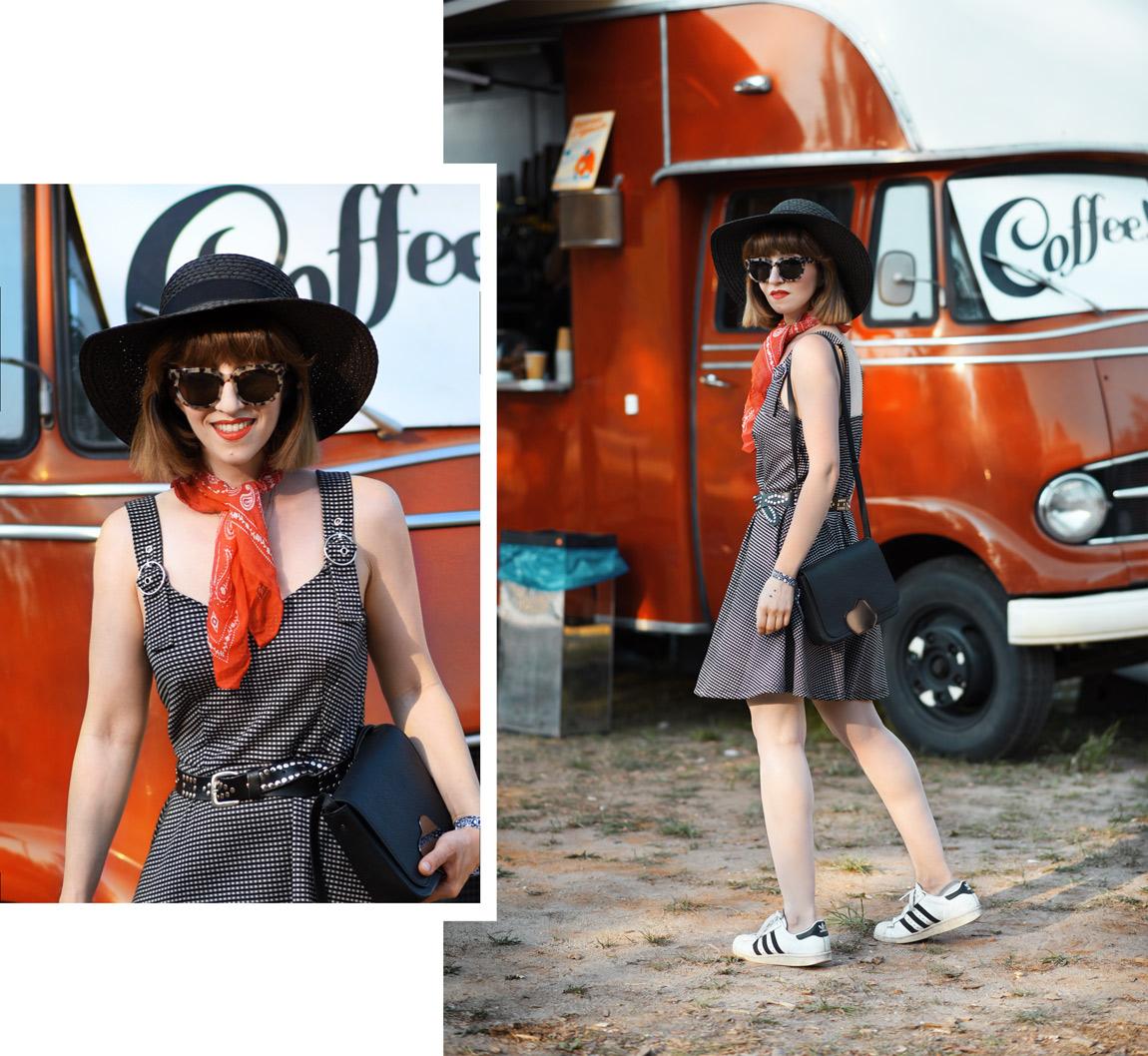 mini, kleid, festival, sommer, orange, berlin, fashionblogger, modeblogger, streetstyle, ootd, inspiration, outfit, hut, skaterdress