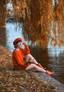 november, outfit, berlin, herbst, inspiration, nachgestern, blogger, fashionblog, modeblogger, look, streetstyle, warm, bequem, stylish, strick, hm, pullover, rot