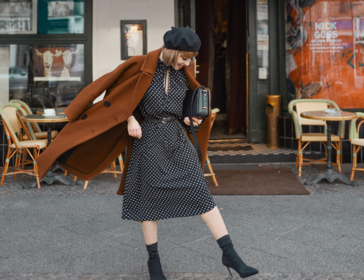 diversity, berlin, paris, outfit, french, parisienne, punkte, kleid, winter, streetstyle, modeblog, fashionblog, ootd, inspiration, cute, retro