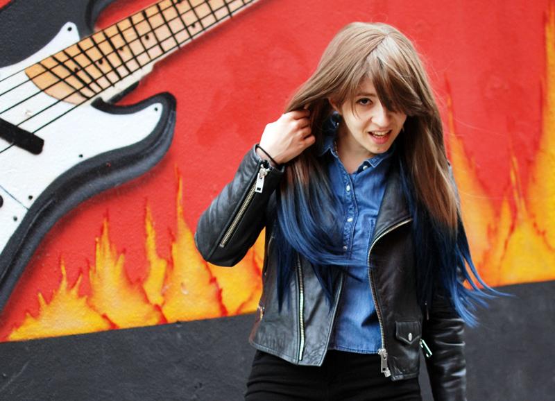portrait-wig-ombre-hair-fashion-blogger-blog-nachgestern-distressed-denim-leather