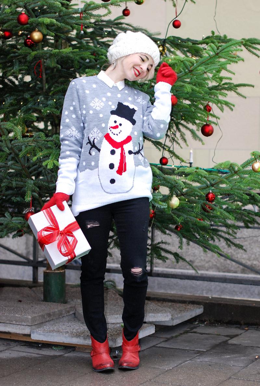 christmas-weihnachten-weihnachtsoutfit-outfit-pullover-schneemann-winter-modeblogger-1