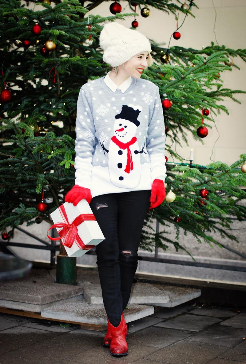 christmas-weihnachten-weihnachtsoutfit-outfit-pullover-schneemann-winter-modeblogger-Kopie