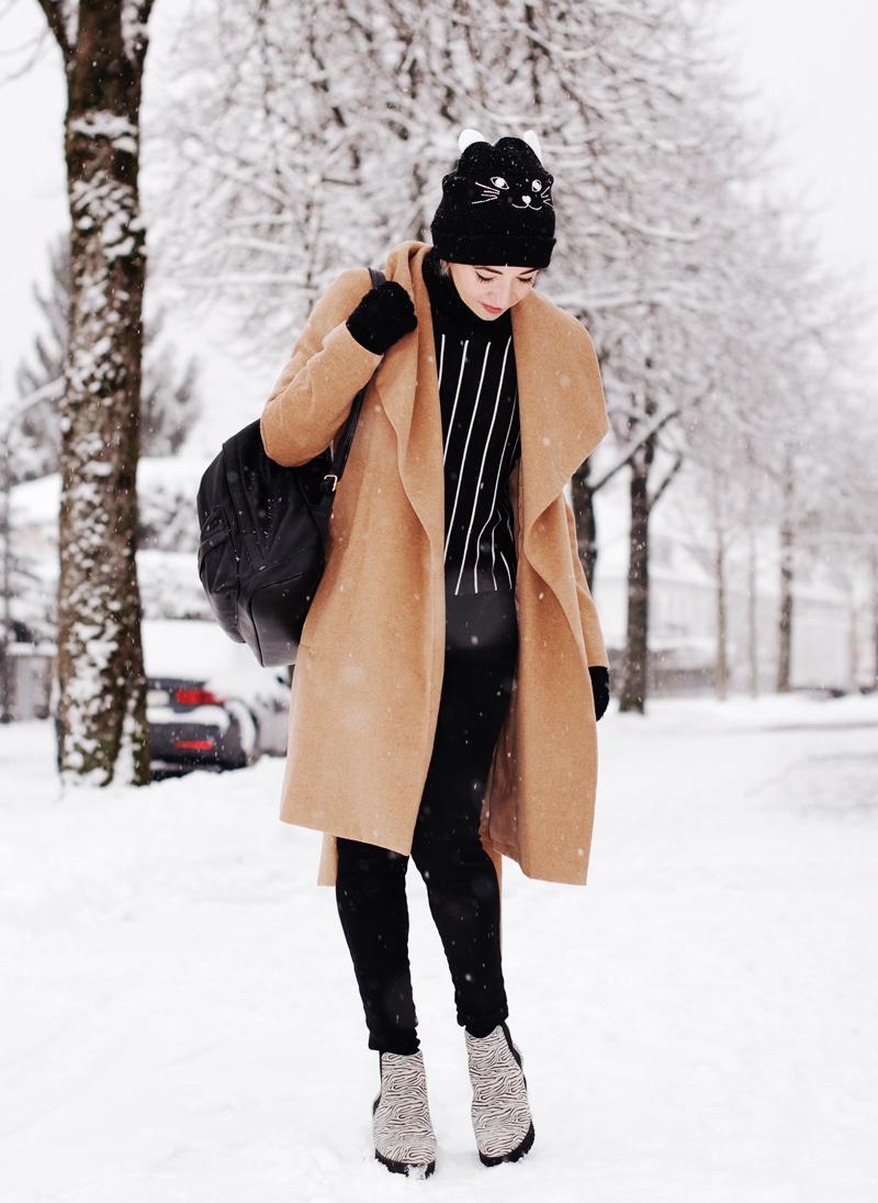 mangocoat-coat-camel-winter-outfit-fashionblogger-nachgesternistvormorgen-black-snow-4