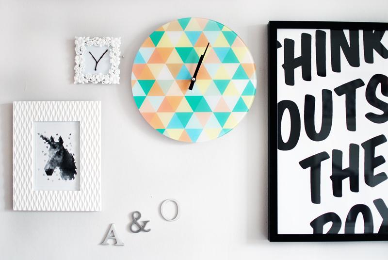 bilderwand-decor-deko-watch-uhr-geometrisch-clean-living-interior-inspiration-blogger