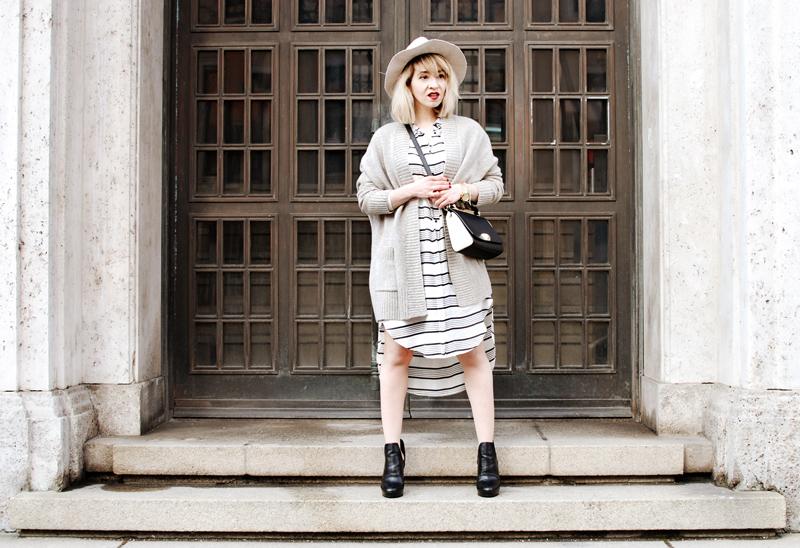 quer-streifen-stripes-hemdkleid-blusenkleid-bluse-blouse-blogger-outfit-streetstyle