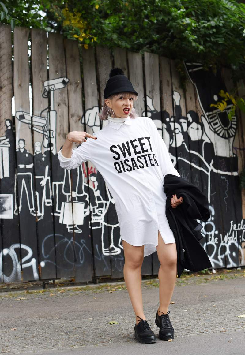 blouse-dress-monochrome-outfit-fashion-blogger-nachgesternistvormorgen-cute-edgy-look-streetstyle-1
