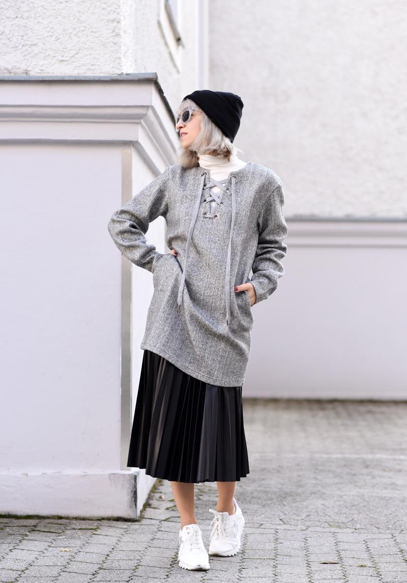 front-row-shop-blogger-fall-winter-grey-nachgesternistvormorgen-muenchen-skirt-lace-up-dress-trend-fashionblogger-6