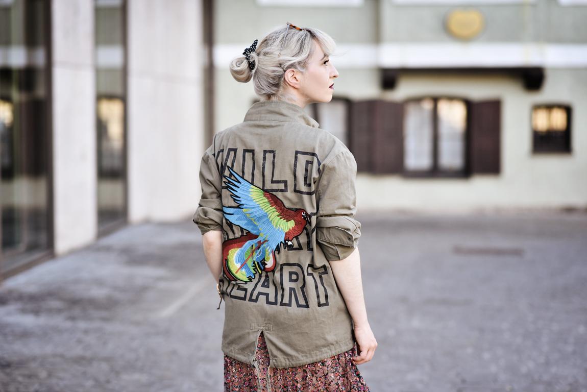 Outfit Plissee Rock Nachgesternistvormorgen
