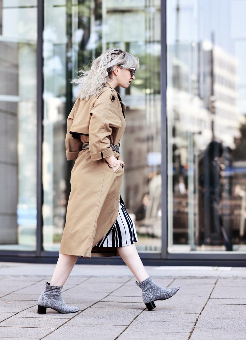glitzer schuhe trenchcoat muenchen fashionblogger modeblogger nachgesternistvormorgen herbst outfit streetstyle