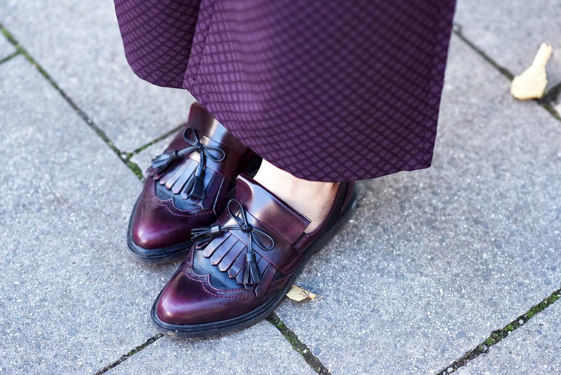 schuhe, slipper, loafer, lila, fashionblogger, modeblogger, muenchen, tamaris