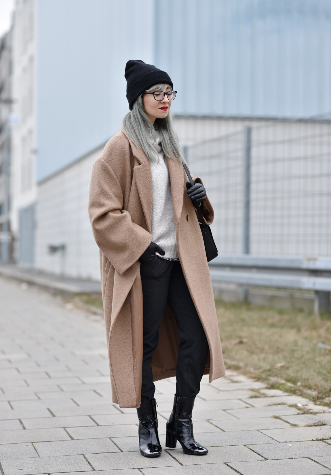 camel, mantel, fashionblogger, modeblogger, muenchen, outfit, winter, oversized, hm, coat, streetstyle, outfit