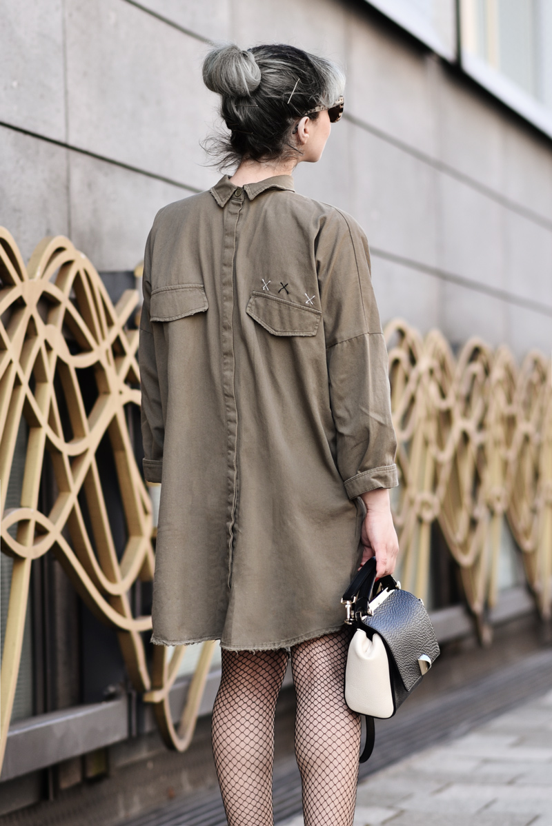 outfit, rules, zara, fashionblogger, modeblogger, muenchen, kleid, olivgrün, military, ootd, streetstyle