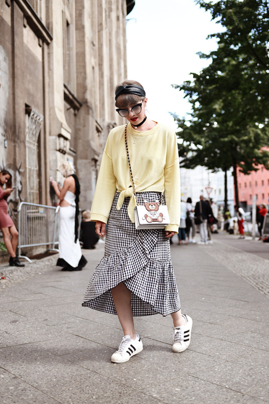 fashionweek, berlin, mbfwb, streetstyle, outfit, modeblogger, fashionblogger, styleblogger, moschino, mango, muenchen, sommer, vichy, outfit
