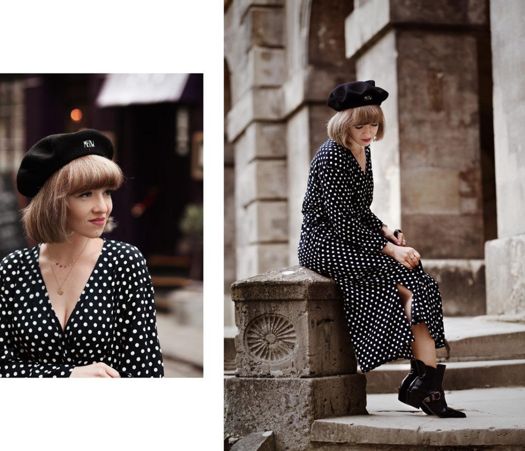 oxford, look, dots, polkadots, gepunktet, mango, kleid, fashionblogger, modeblog, muenchen
