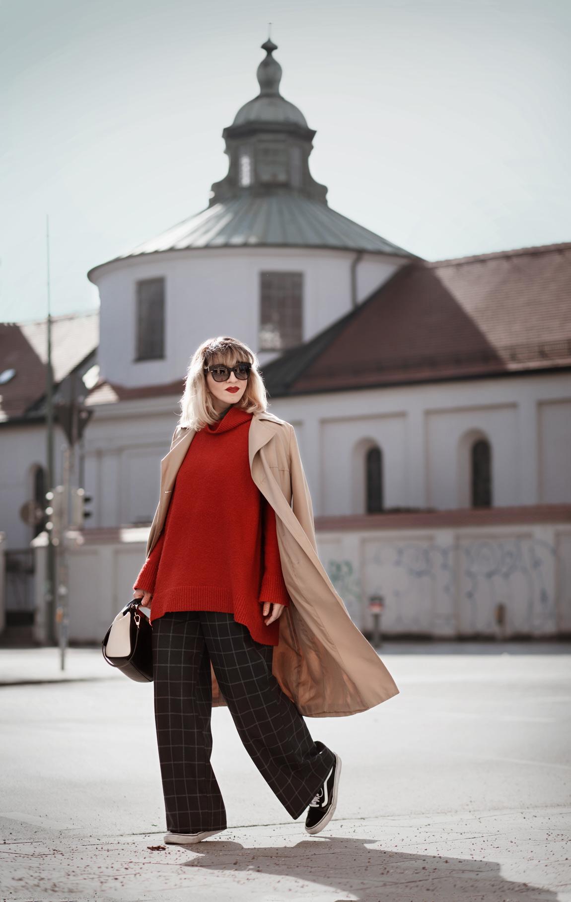 sich, durchsetzen, look, blogger, fashionblog, modeblogger, berlin, muenchen, rot, outfit, waschsalon, cute, suess, streetstyle, oversize