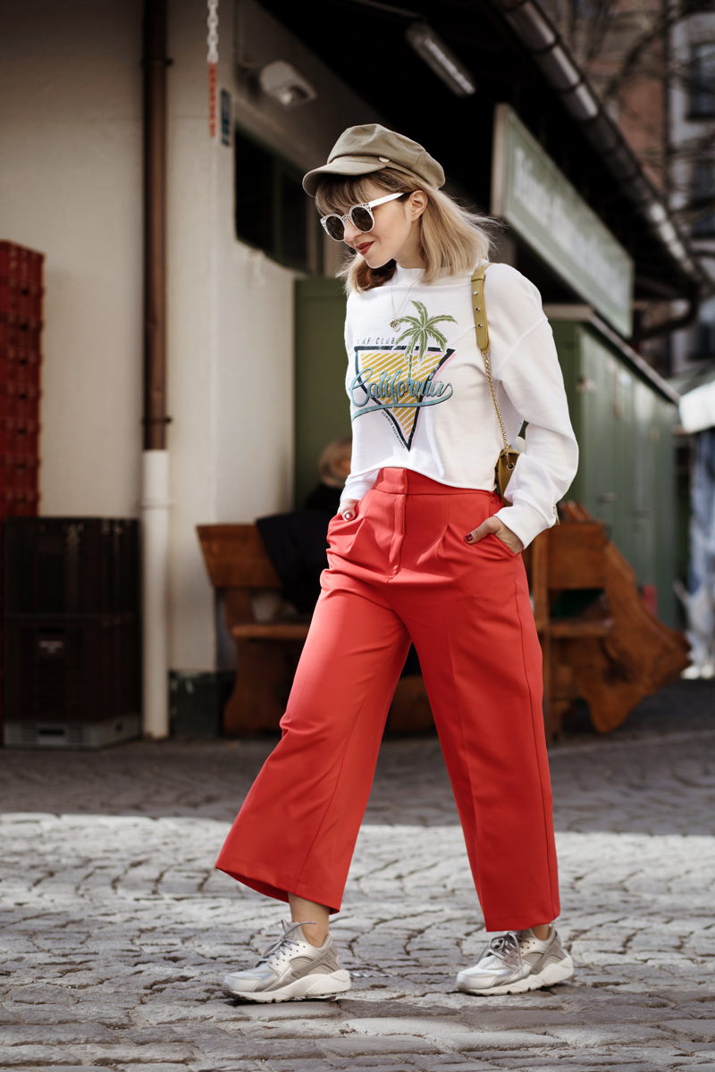 ugly, sneakers, trend, nike, fashionblogger, modeblog, berlin, muenchen, ootd, streetstyle, spring, culotte, rot, styleblogger, look, inspiration, furla