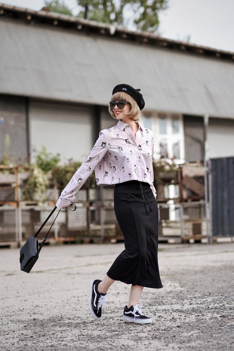 katzen, bluse, zara, outfit, fashionblog, berlin, modeblog, modeblogger, streetstyle, inspiration, suess, retro, barrett