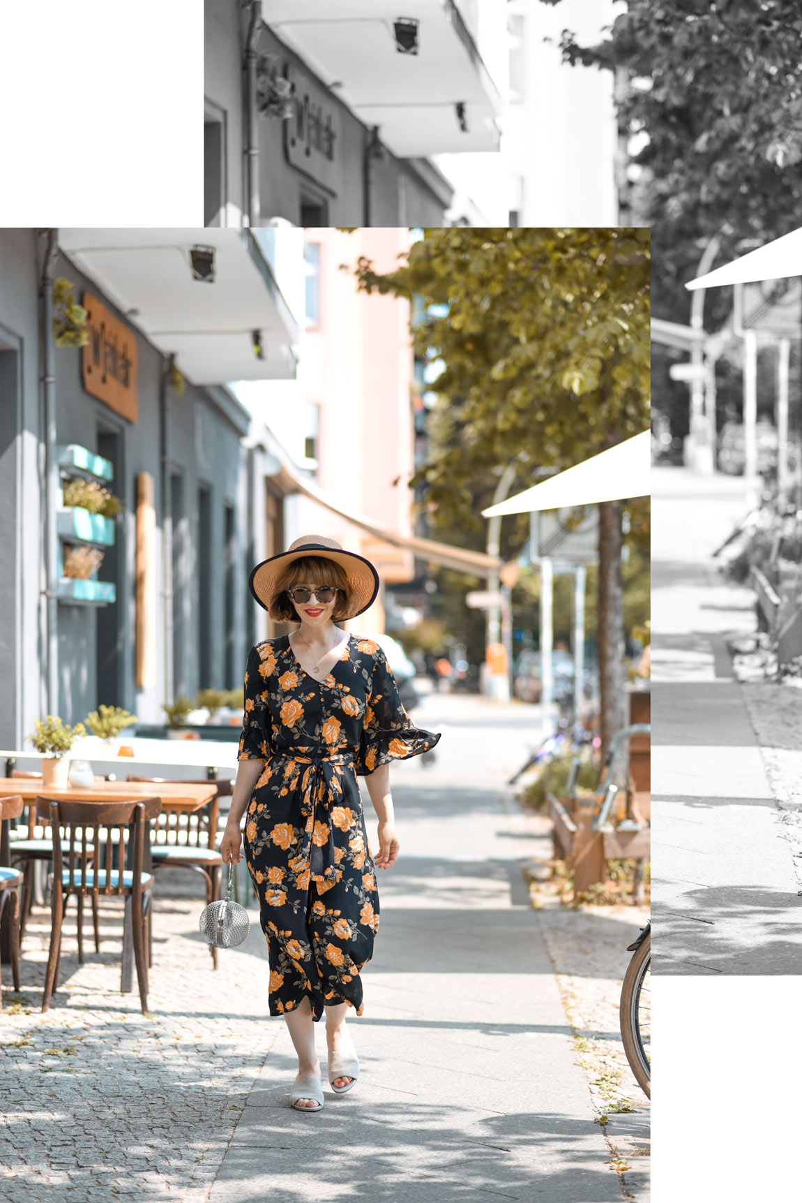 jumpsuit, outfit, berlin, fashionblogger, modeblogger, outfit, sommer, overall, asos, streetstyle, inspiration, blumen