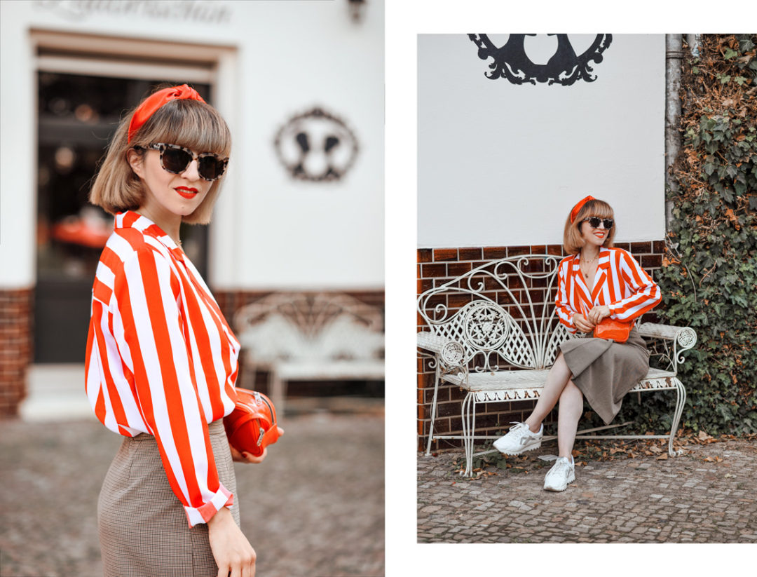 tipps, gegen, hitze, gestreifter, blazer, berlin, outfit, streetstyle, retro, fashionblogger, modeblogger, blog, monki