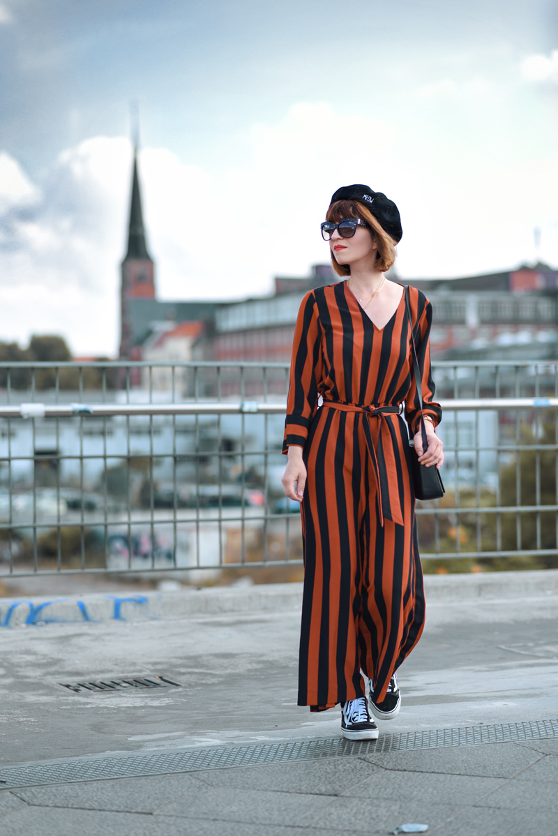 herbst, outfit, berlin, look, monki, overall, orange, streetstyle, fashionblogger, modeblogger, jumpsuit
